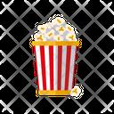 Popcorn Popcorn Bucket Movie Icon