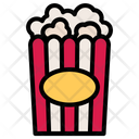 Popcorn Corn Snack Icon