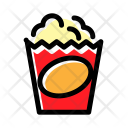 Popcorn Food Cinema Icon