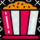 Popcorn Sweet Treats Icon