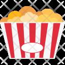 Popcorn Cinema Movie Icon