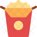 Popcorn Corn Snack Icon