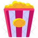 Popcorn Popcorn Snacks Cinema Snacks Icon