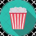 Popcorn Snack Bucket Icon