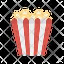 Popcorn Snack Circus Icon