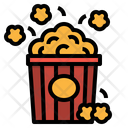 Popcorn Cinema Movie Icon