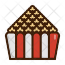Popcorn Snack Meal Icon