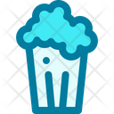 Popcorn Film Snack Icon