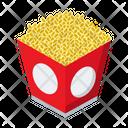 Popcorn Snack Food Icon