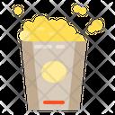 Popcorn Snack Movie Icon