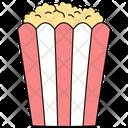 Popcorn Snacks Cinema Icon