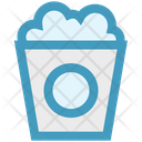 Popcorn Popcorn Tin Kettle Corn Icon