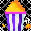 Popcorn Cinema Film Icon