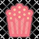 Popcorn Movie Snack Icon