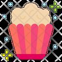 Popcorn Food Popcorn Box Icon