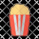 Popcorn Cinema Snack Icon
