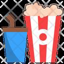Popcorn Entertainment Movie Icon