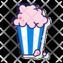 Popcorn Snack Corn Icon
