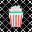 Popcorn Cup Snack Icon