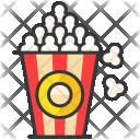 Popcorn Snack Icon