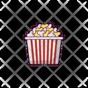 Popcorn Snack Cup Icon