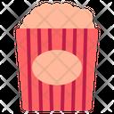 Popcorn Food Snack Icon