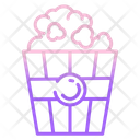 Popcorn Bowl Icon