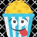 Popcorn Emoji Icon