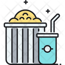 Popcorn Soda Icon