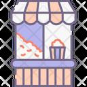 Popcorn Stall Icon