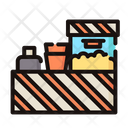 Popcorn stand Icon