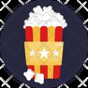 Popcorns Snack Movie Icon