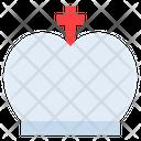 Pope Catholic Cross Icon