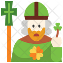 Pope St Patrick Day Faith Icon