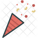 Popper Party Celebration Icon