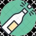 Popping Cork Splashing Icon