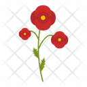 Poppy field Icon