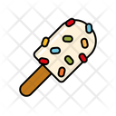 Sprinkle Popsicle Icon