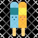 Icecream Summer Popsicle Icon
