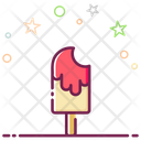 Popsicle Bite Ice Pop Ice Cream Icon