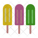 Popsicles Ice Popsicles Popsicle Sticks Icon
