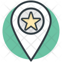 Popular Place Map Icon