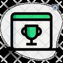 Popular Web Web Certificate Winning Web Icon