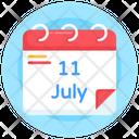 Agenda Population Day Calendar Population Day Date Icon