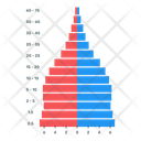 Population Pyramid Infographic Icon