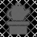 Porcelain Ceramic Ancient Icon