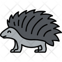 Porcupine Rodent Spine Animal Icon