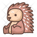 Porcupine Animal Wild Icon