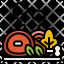 Pork Roast Vegetables Icon
