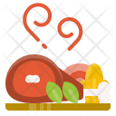 Pork Roast Vegetables Icon